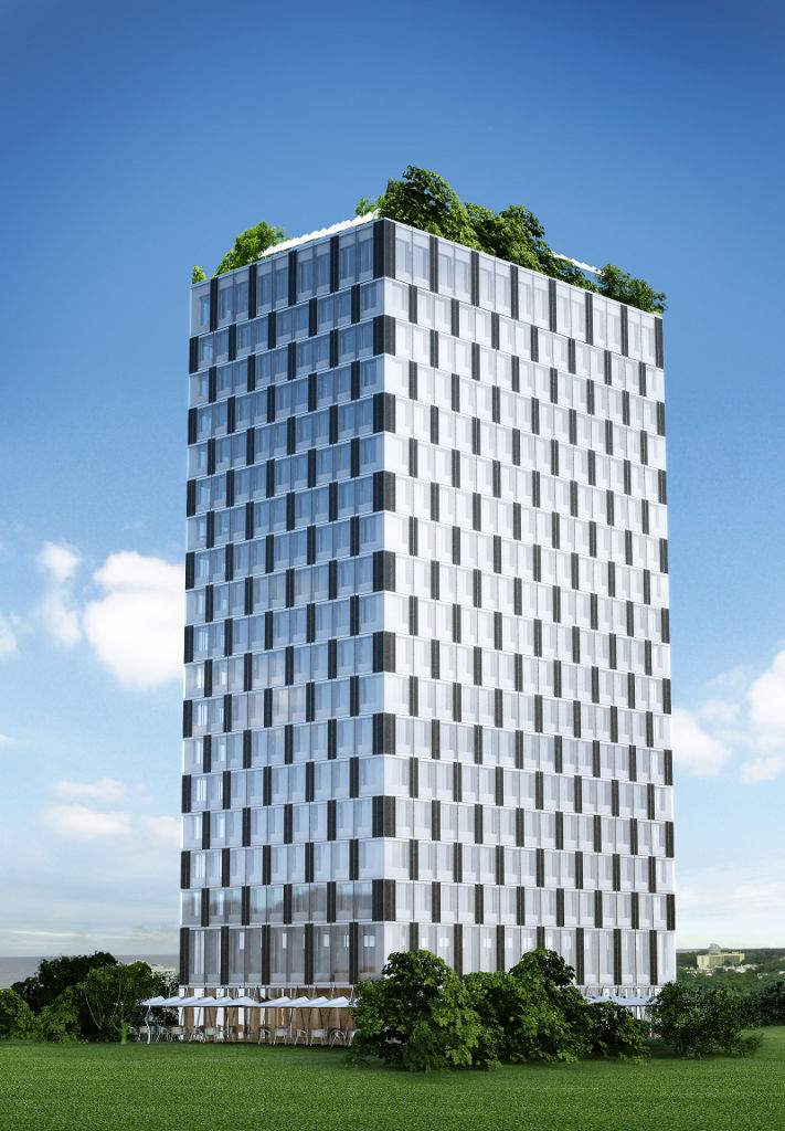 Lifecycle Tower Taking Wood To New Heights Buildipedia
