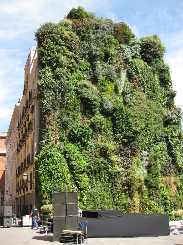 Patrick Blancu0027s Vertical Garden In Madrid, ...