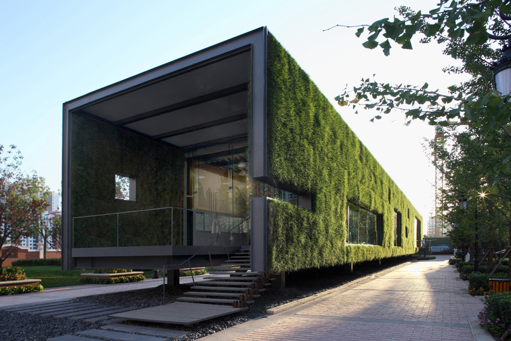 Green Technology Showroom by Vector Architects in Beijing, China