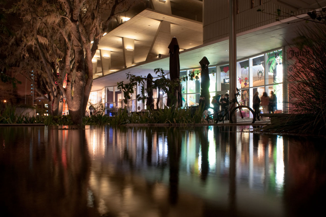 1100 Lincoln Road reflection pool by Herzog & de Meuron