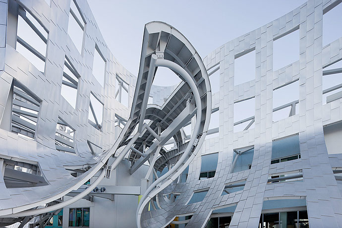 Frank Gehry Lou Ruvo Center Cleveland Clinic