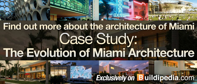Find out more about the architecture of Miami