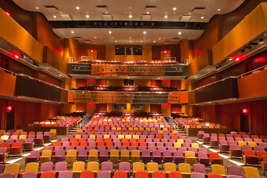 South Miami-Dade Cultural Arts Center Auditorium by Arquitectonica
