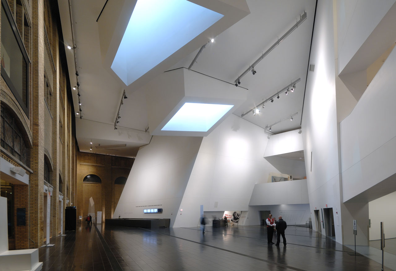Lobby with Crystalline Skylights