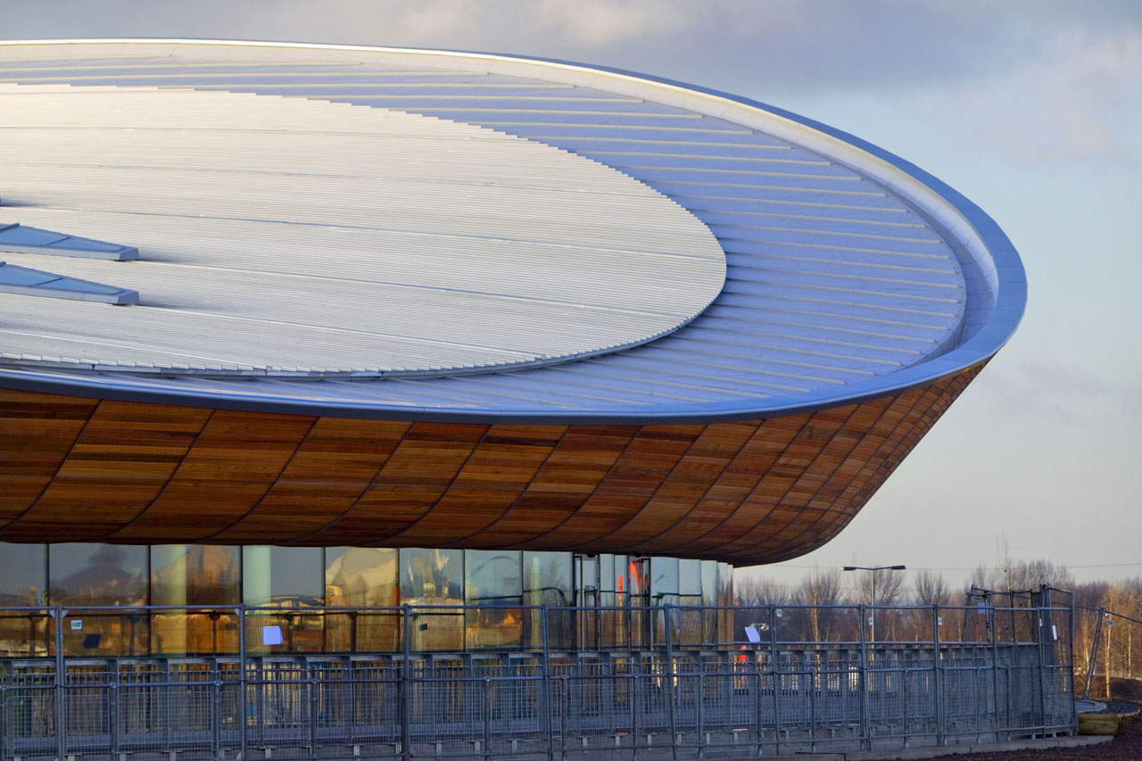 London 2012 velodrome by hopkins architects buildipedia for Architecture londres