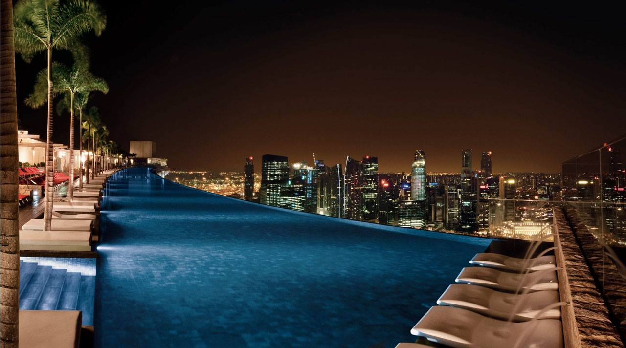 Marina bay sands skypark an iconic singapore destination for Best hotel pools