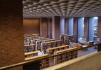 4 Pei Library Interior By Don Nissen