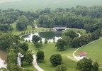 Mill Race Park Aerial By Leonard Perry