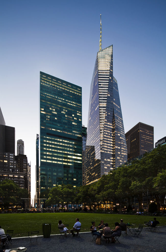 LEED Platinum One Bryant Park / Bank of America Tower