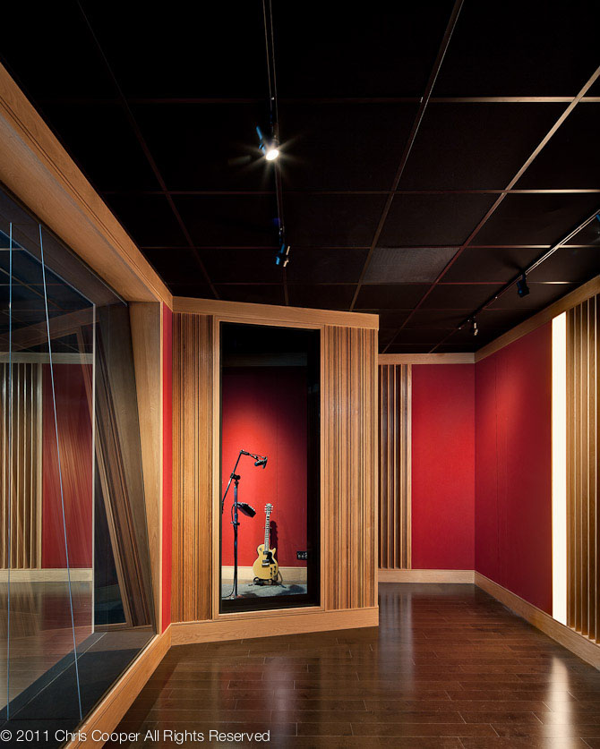 Studio Lighting For Streaming: Island In The Stream: A Recording Studio Bracketed By