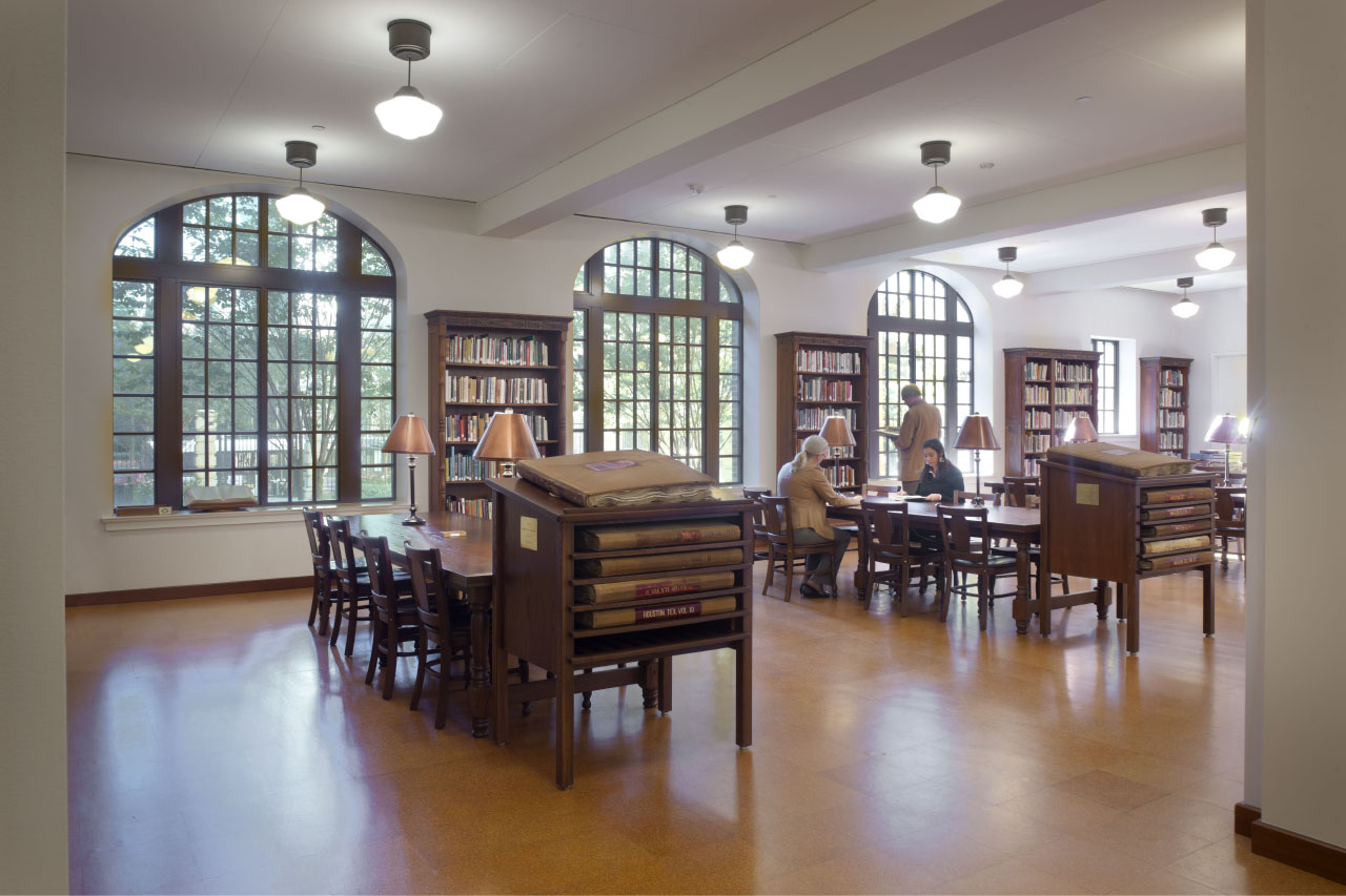 The Julia Ideson building Archival Reading Room