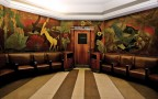 Historic Pierre Bourdelle Carved Panels In Womens Lounge - Image Provided By Cincinnati Museum Center At Union Terminal