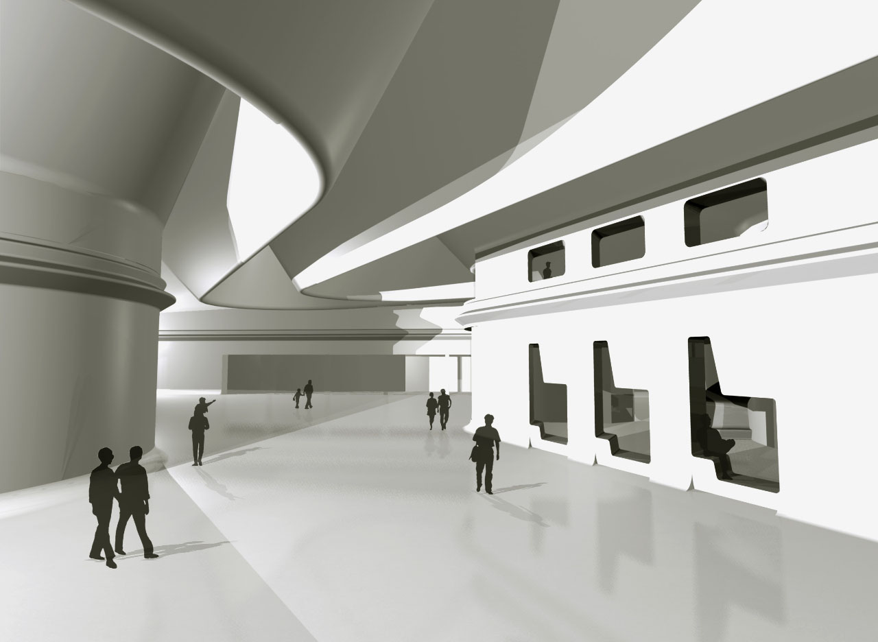 Case study zaha hadid architects riverside museum of for Interior design agency glasgow