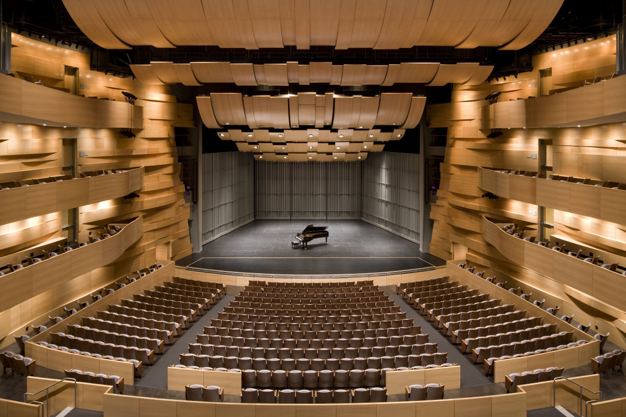 Valley Performing Arts Center by HGA Architects and Engineers ...