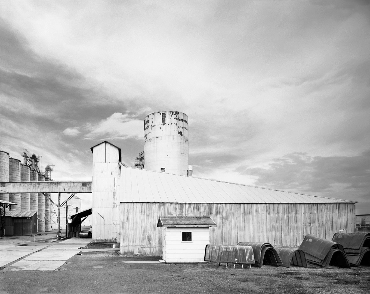 Grain Elevator Complex from David Stark Wilson's photography book Structures of Utility