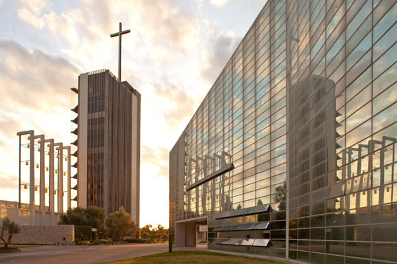 Philip Johnson's Crystal Cathedral