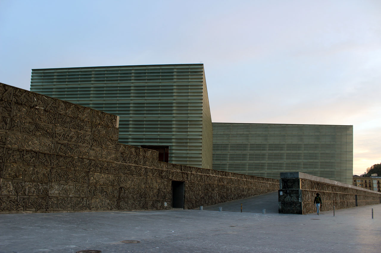 Kursaal Convention Center and Auditorium in San Sebastian, Spain