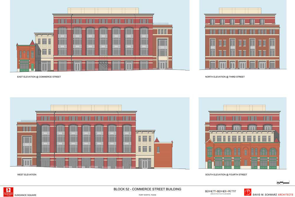 Fort Worth Block 52 Elevation Drawing