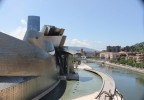Frank O. Gehry's Guggenheim museum in Bilbao, Spain | Credit: Nicole Jewell