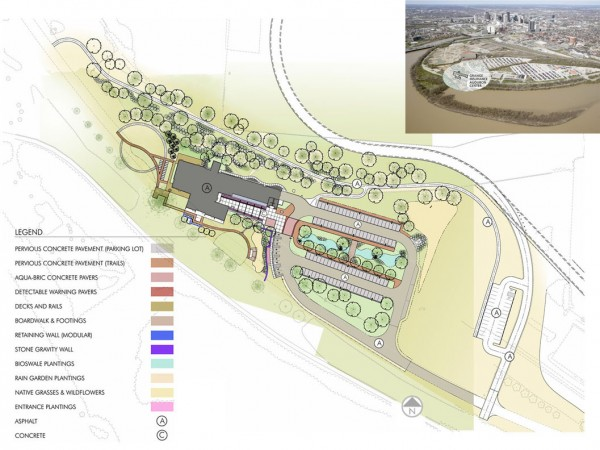 Site Plan | Courtesy of DesignGroup