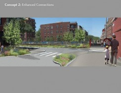 BQE Redevelopment  Concepts | Credit: Starr Whitehouse