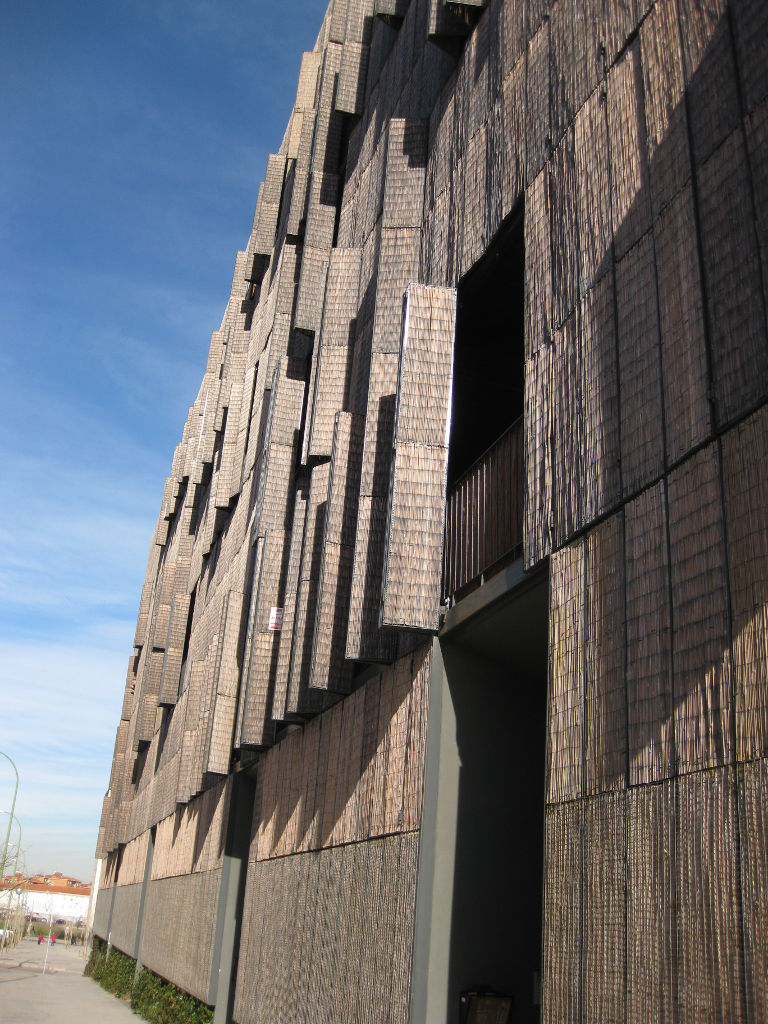Bamboo Housing In Carabanchel By Foreign Office Architects