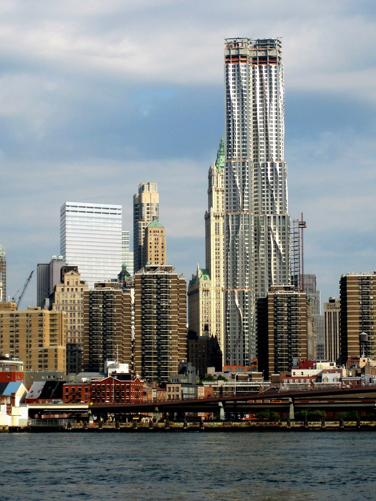 Beekman Tower by Frank Gehry in New York City