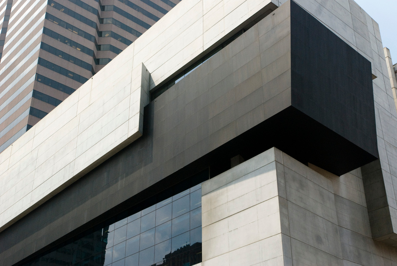 Cincinnati Contemporary Arts Center exterior detail By Zaha Hadid