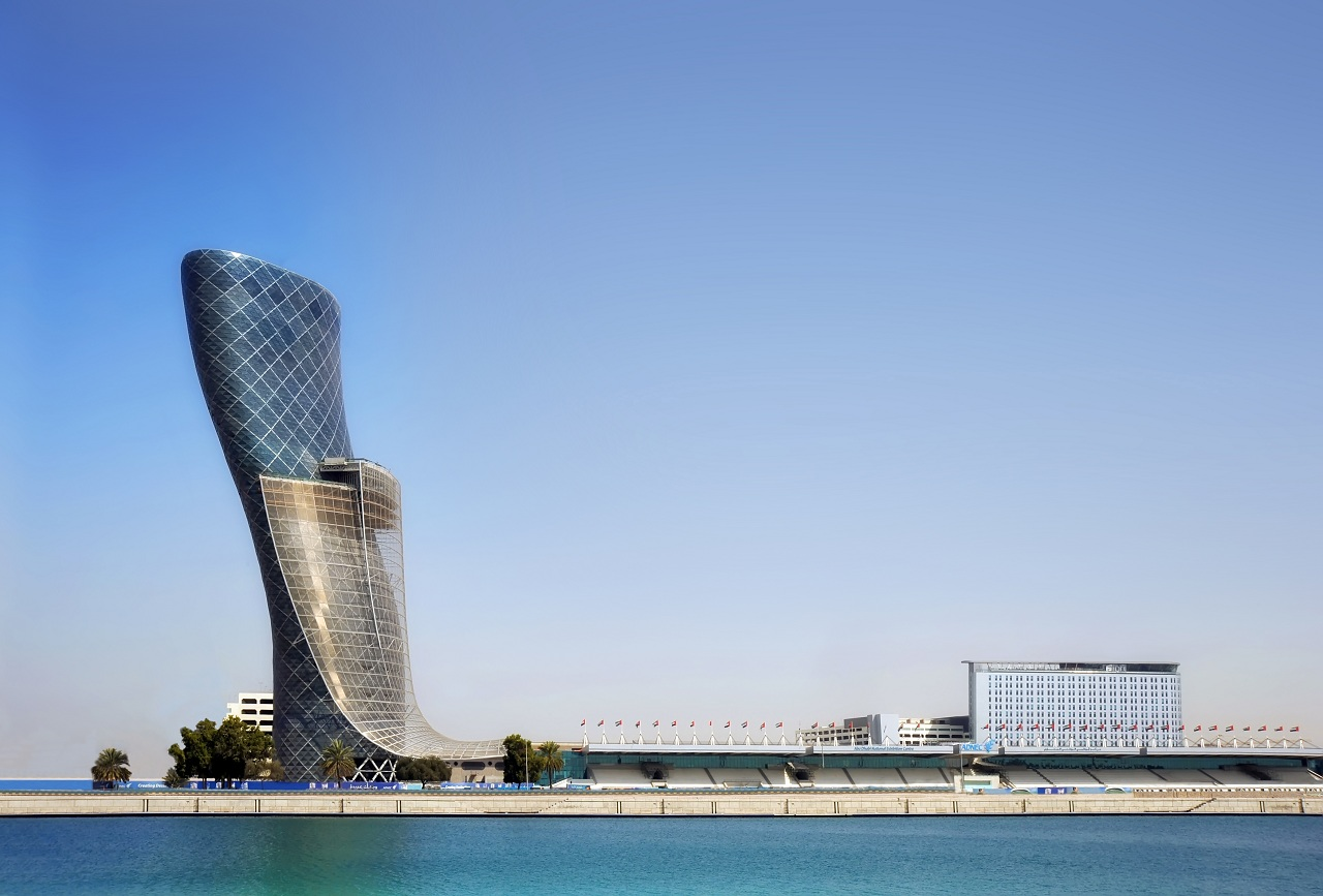 Landmark Tower Abu Dhabi Location Tower in Abu Dhabi by Rmjm