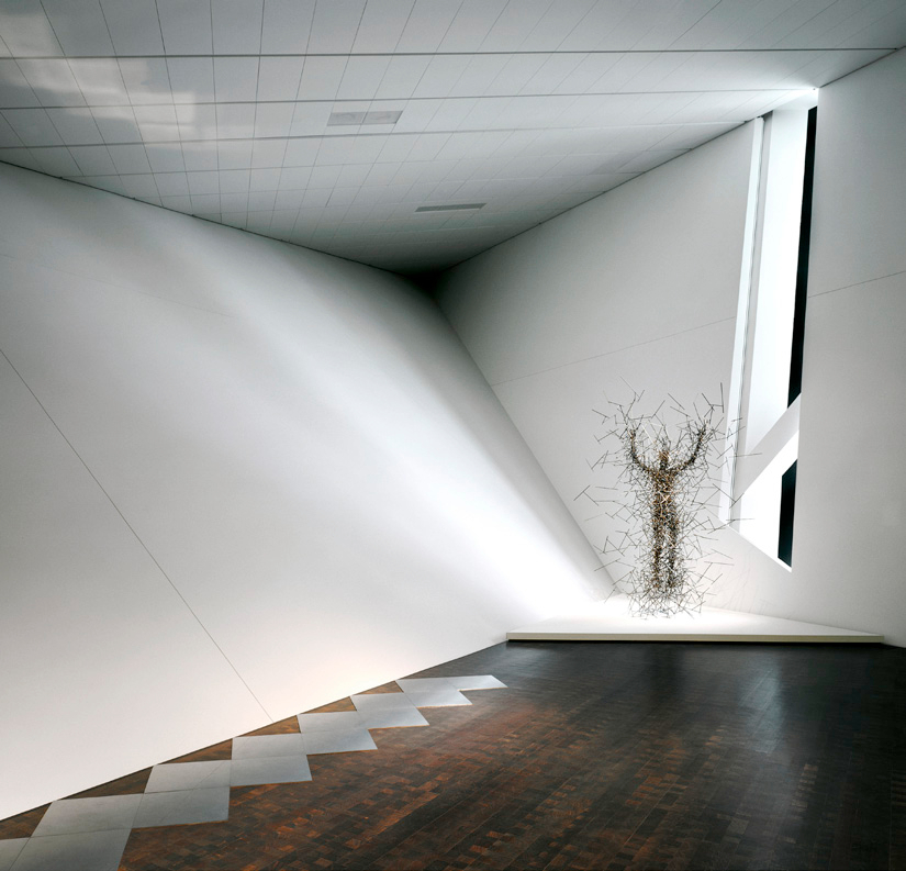 The Denver Art Museum interior by Daniel Libeskind