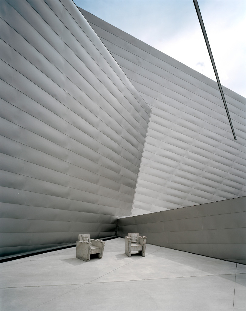 The Denver Art Museum deck by Daniel Libeskind