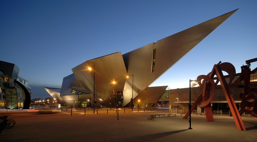 Libeskind S Extension To The Denver Art Museum Buildipedia
