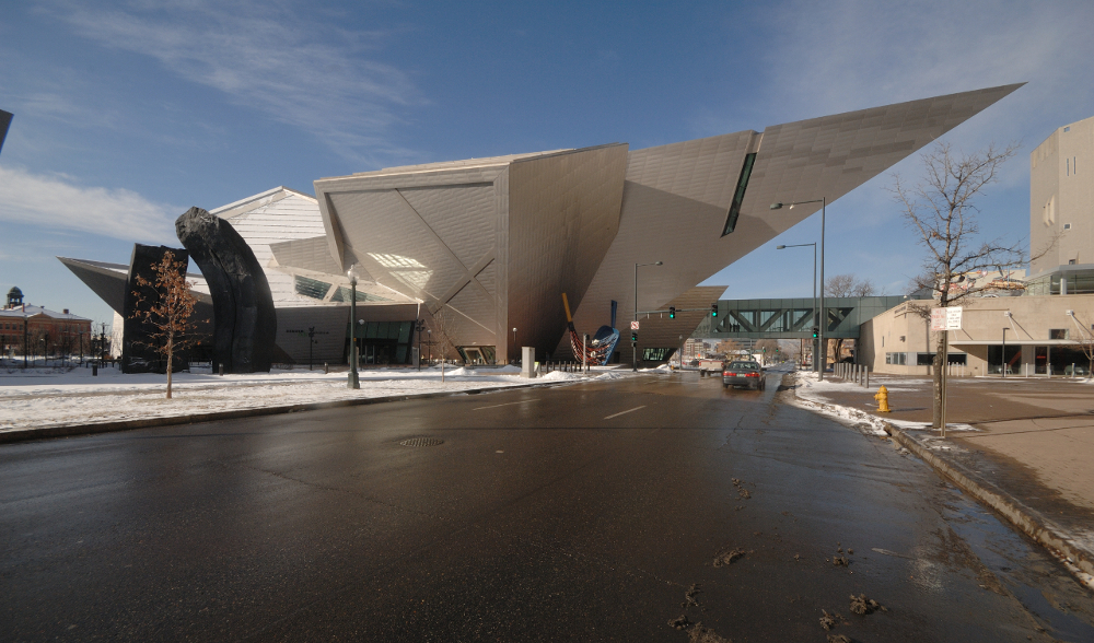 The Denver Art Museum by Daniel Libeskind
