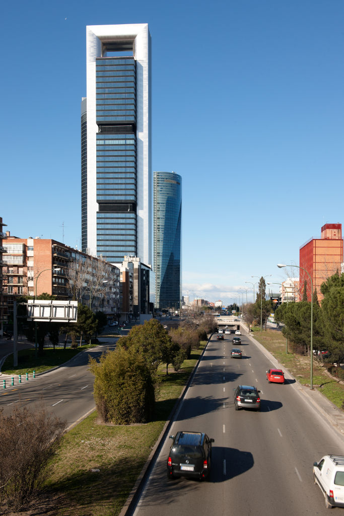 Madrid's  Torre Caja Madrid designed by Foster + Partners