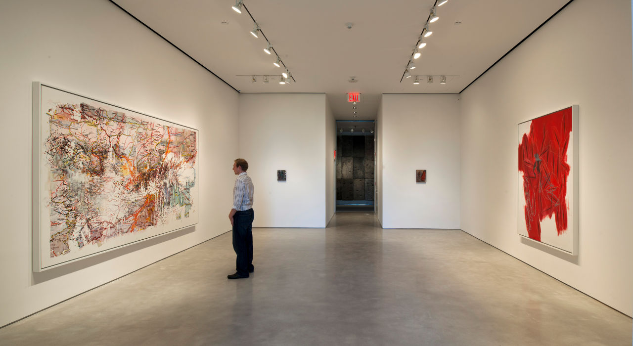 Art In A Red Box Foster Partners Sperone Westwater Gallery Buildipedia