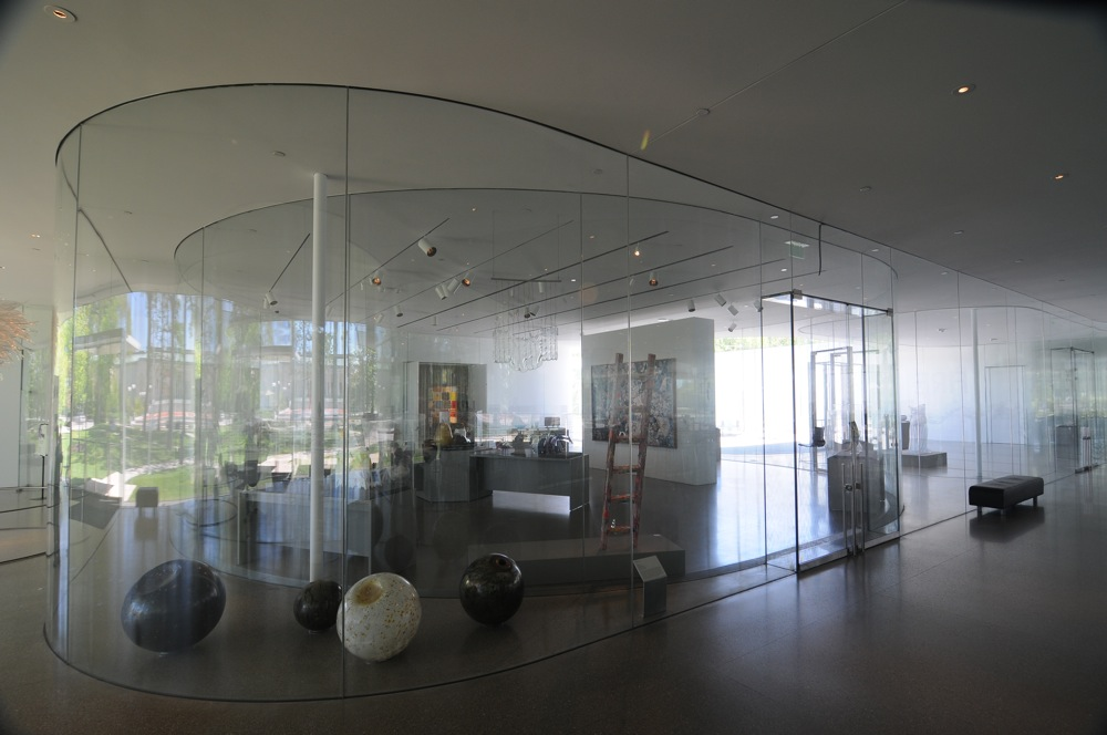 Toledo Museum of Art Glass Pavilion Gallery by SANAA