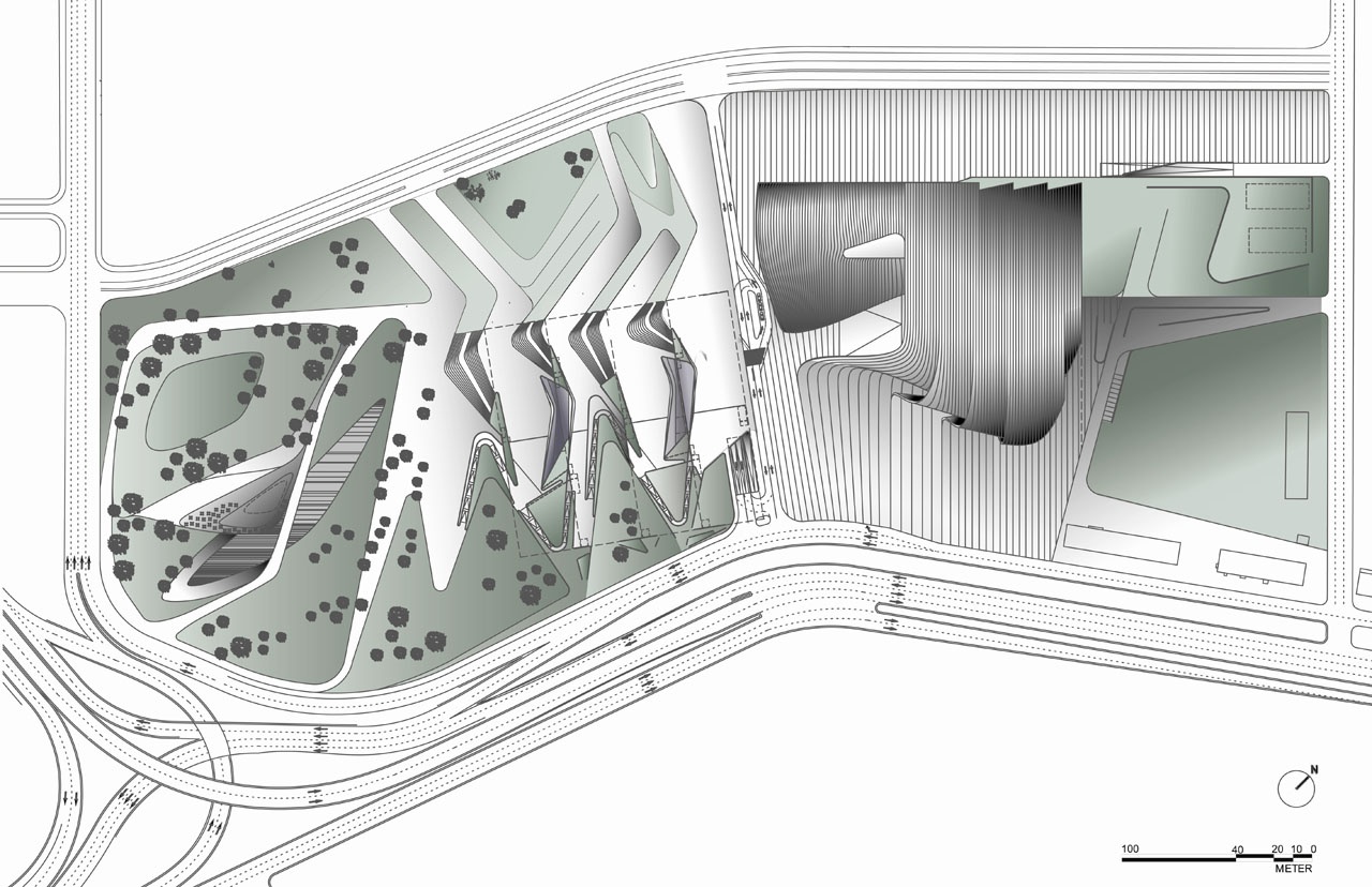 Heydar_Aliyev_Cultural_Center_Site_Plans