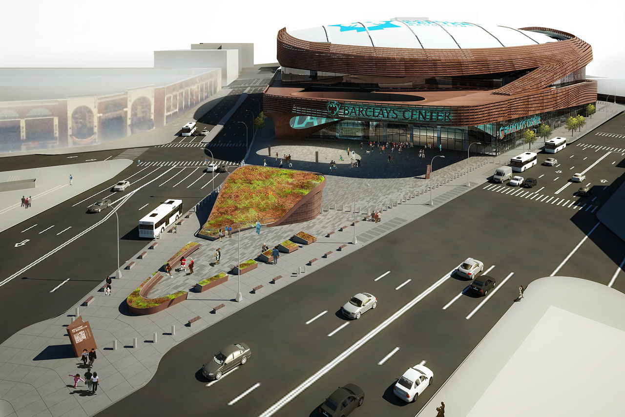 SHoP Architects' Barclays Center rendering