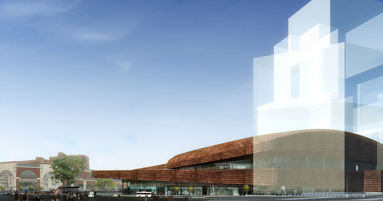 SHoP Architects' Barclays Center street elevation