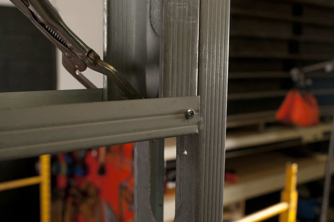 Framing Out Openings With Light Gauge Metal Studs