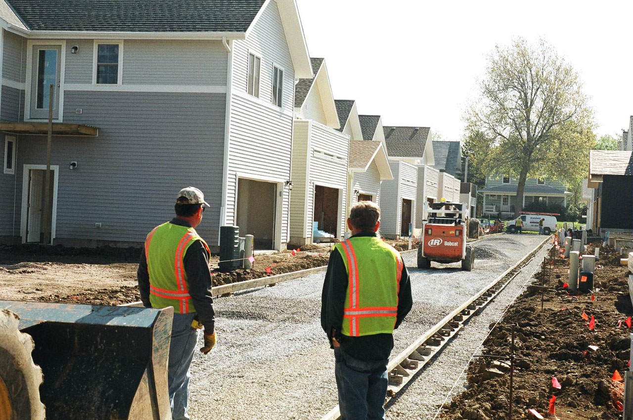 Laying a well-drained gravel layer underneath Pervious Pavement