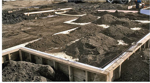 Slabs for colder climates part 1 the how and why of for Wood crawl space foundation