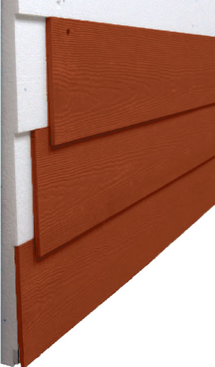 Progressive Foam Technology's Fullback FC siding insulation for fiber cement siding