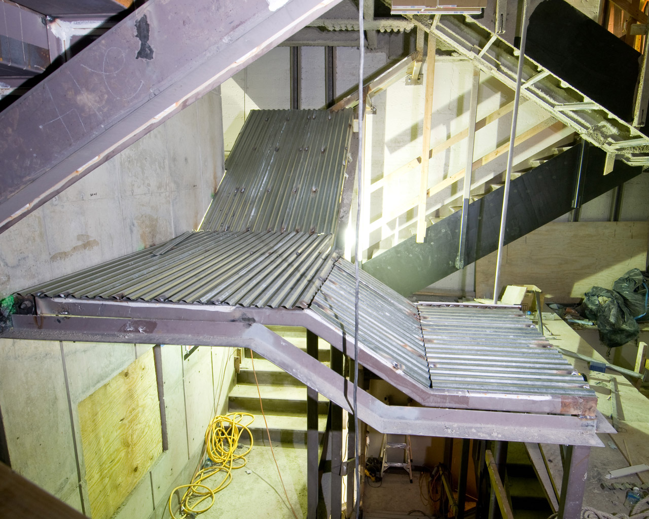 Fire Rated Enclosure on Stairs