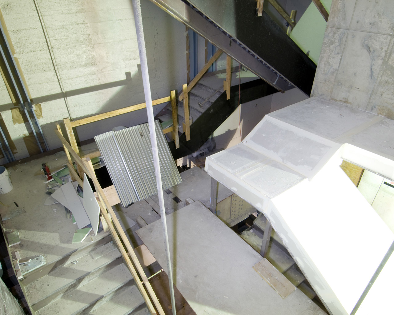 Intersection of Stair A and Stair B