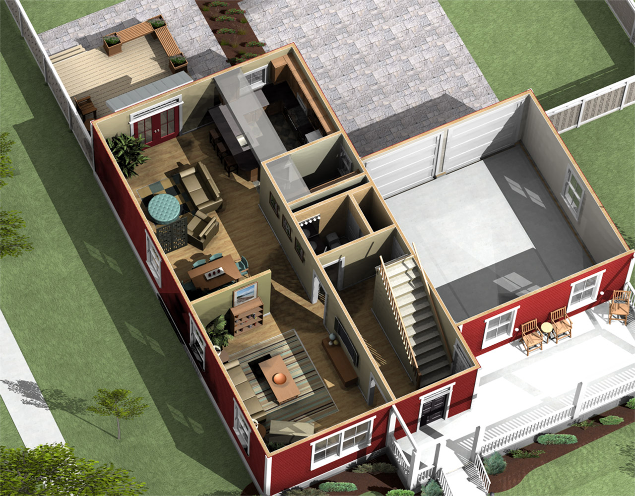 RUIZ Fig 3 - 29+ Simple Small House Design Village Images