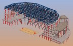Lincoln's West Haymarket Arena BIM Models | Credit: Buro Happold
