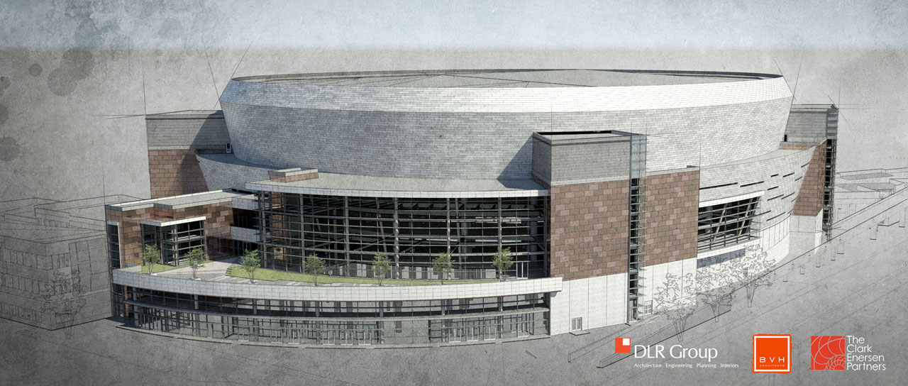 Lincoln's West Haymarket Arena Rendering