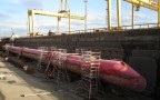 Pelamis Wave Energy Dry Docked | Credit - Pauky