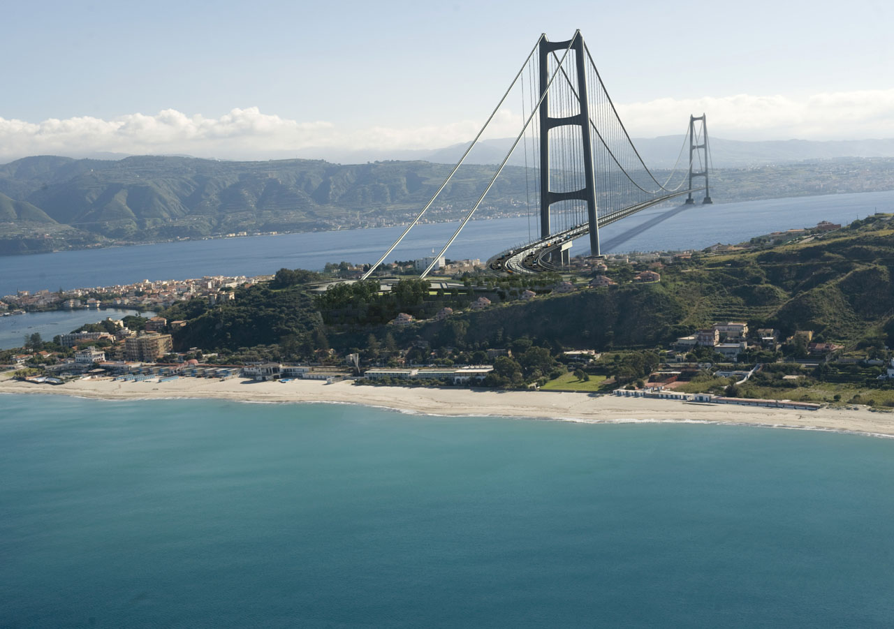 Strait of Messina Bridge